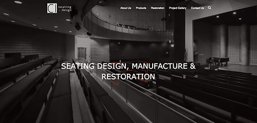 Seating Design Website