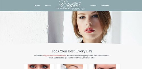 elegant permanent cosmetics website