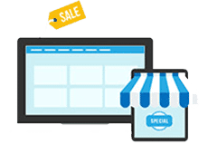 Sales Icon for Online Marketing