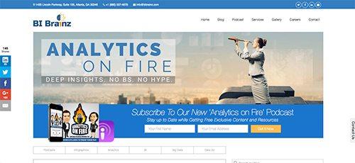 Big Data website design