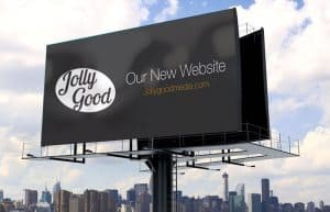 Jolly Good Media's new website