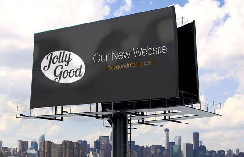 Jolly Good Media's new website