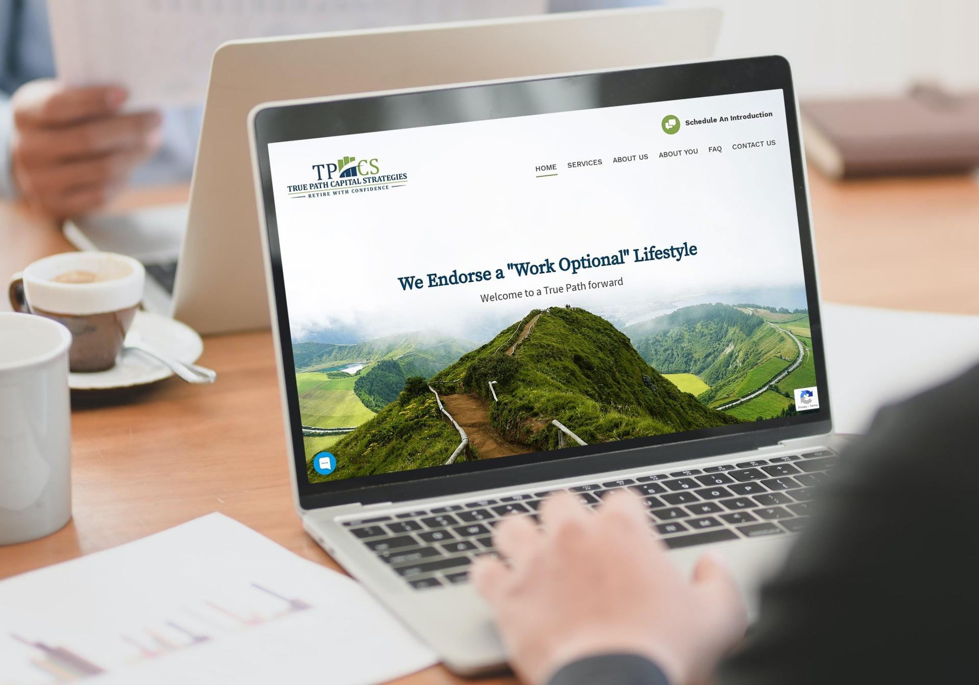 AFinancial Planning Website for CPAS in Portland Oregon